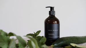 Real World Cucumber & Crushed Mint Body Wash