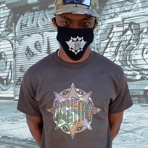 Gang Starr Tropical Camo Logo Tee