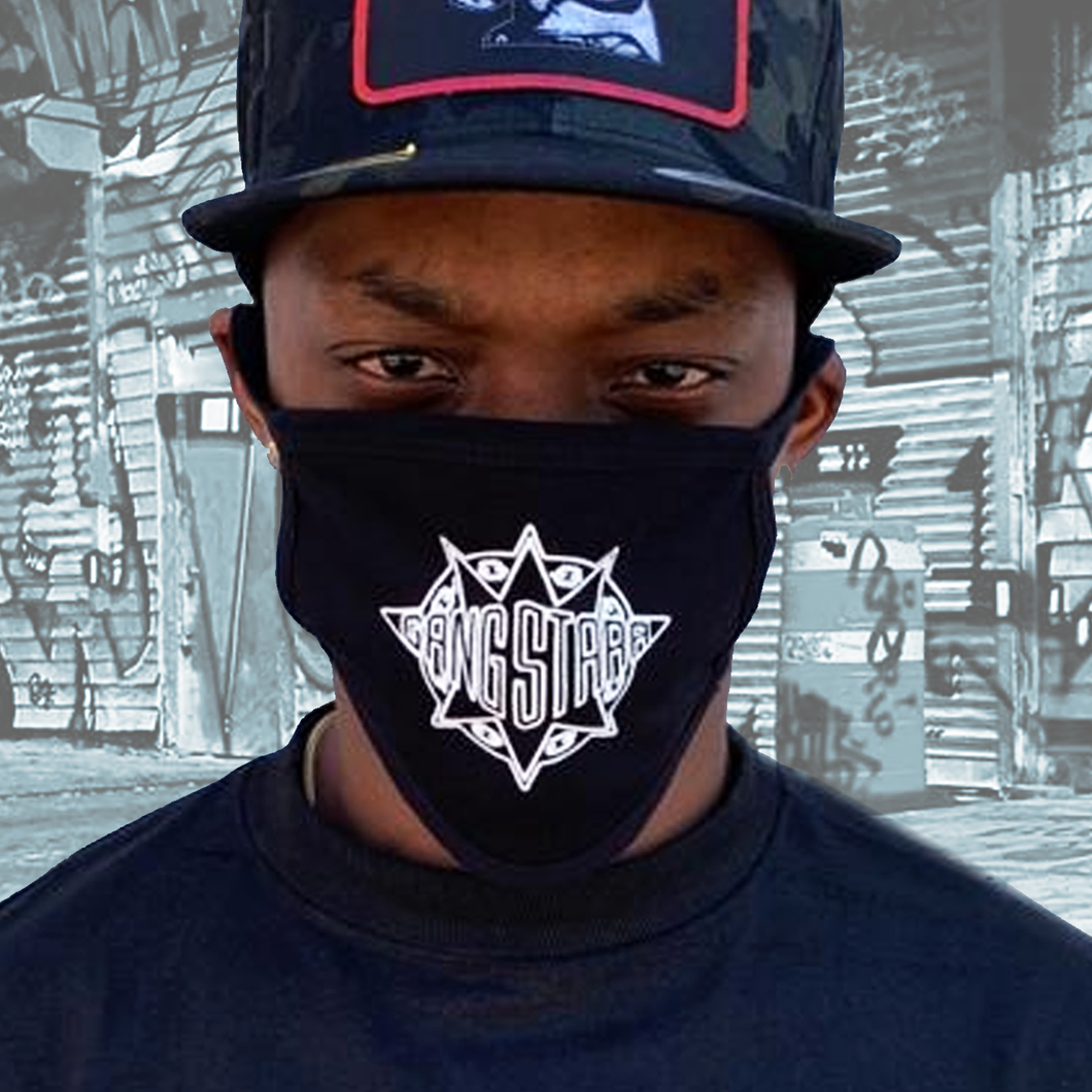 Gang Starr Face Mask - Black