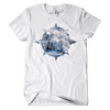 Gang Starr Above The Clouds Logo Tee