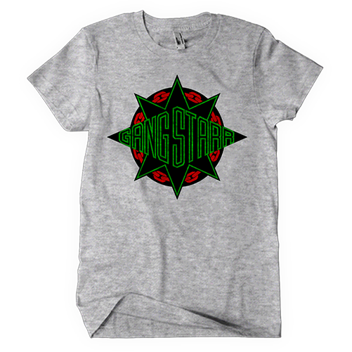 Gang Starr Red/Black/Green Logo Tee