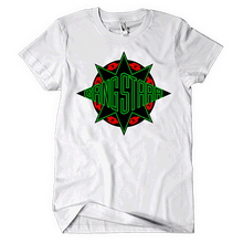Load image into Gallery viewer, Gang Starr Red/Black/Green Logo Tee