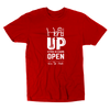 Head Up Eyes And Ears Open Tee