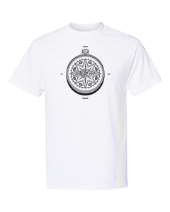 Gang Starr Compass Tee - Two Sided