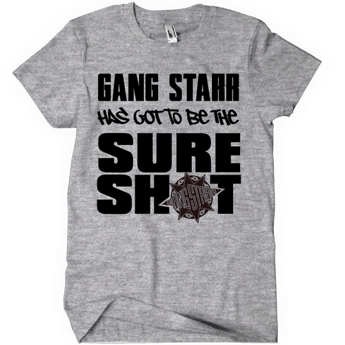 Gang Starr Sure Shot Tee