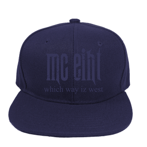 MC Eiht Which Way Iz West Snapbacks