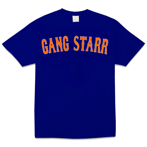 Gang Starr Text Mets Colorway T-Shirt