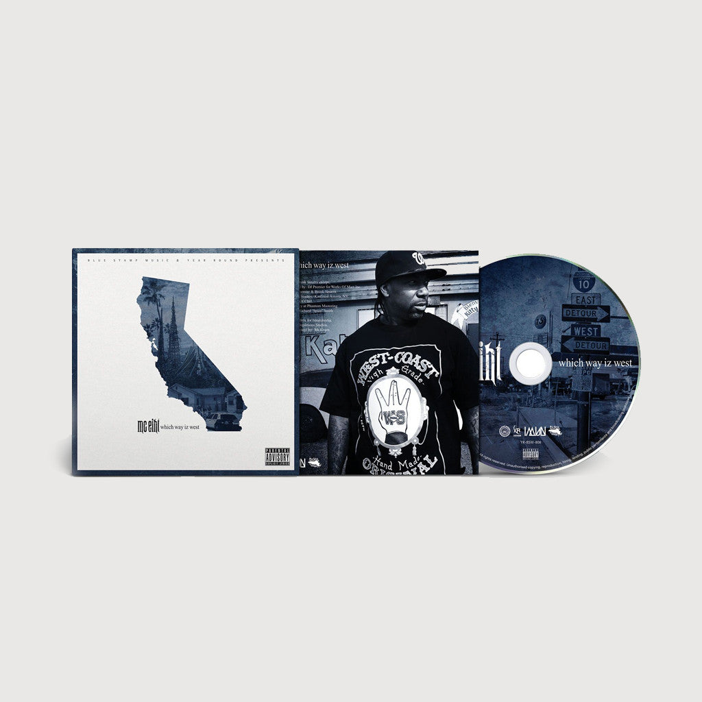MC Eiht- Which Way Iz West CD