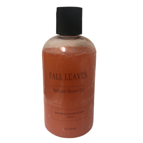 Fall Leaves Shower Gel