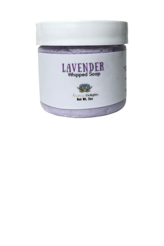 Lavender Whipped Soap