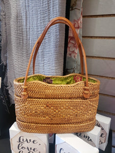 Jelly Bean Woven Tote Bag