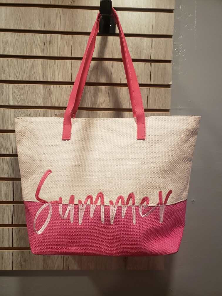 Jelly Bean Two Tone Summer Tote