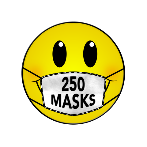 250 MASKS DONATION NEW ORLEANS