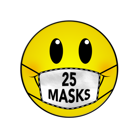 25 MASKS DONATION NEW ORLEANS