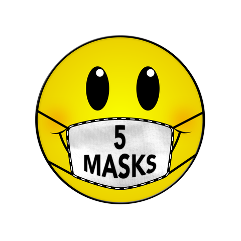 5 MASKS DONATION NEW ORLEANS