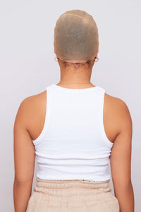 Beige 2x Ultra Stretch Breathable Wig Cap