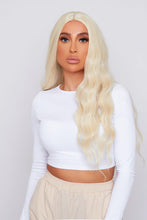 "Load image into Gallery viewer, Tamera 28"" Blonde Synthetic Hair Wig"