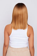 Load image into Gallery viewer, Kristan 14″ Honey Blonde Synthetic Hair Lace Wig