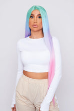 Load image into Gallery viewer, rainbow hair wigs