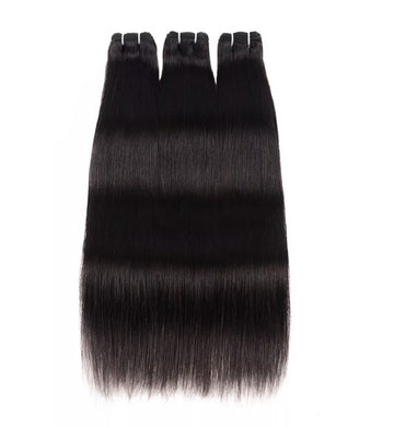 Double Drawn Silked Virgin Brazilian Hair Weft Extensions - PBeauty Hair
