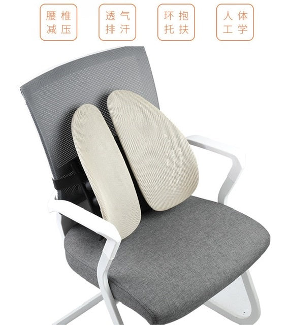 ergonomic back cushions