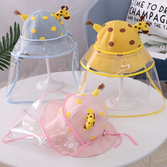 BABY ANTI FOAM ISOLATION AND PROTECTIVE FACE MASK HAT