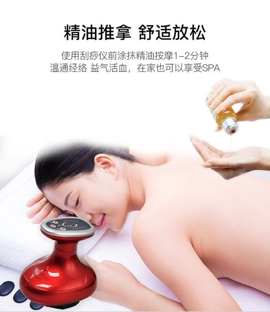USB scraping (gua sha) instrument