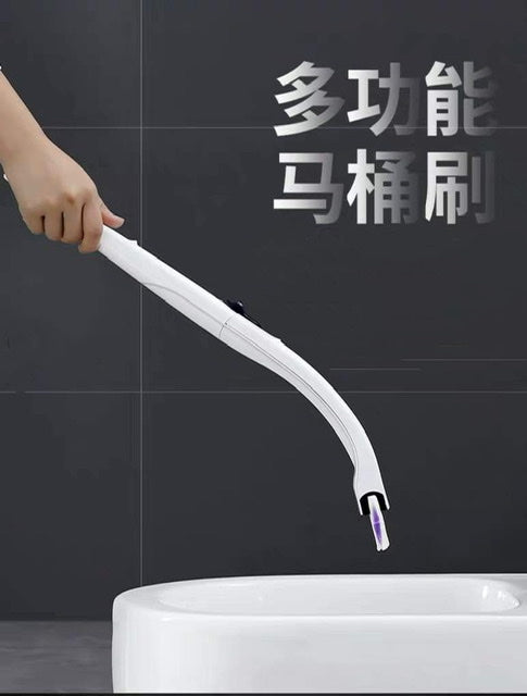Disposable toilet brush