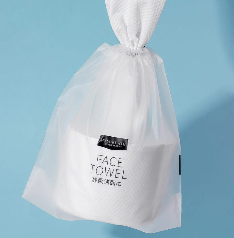 Disposable face towel