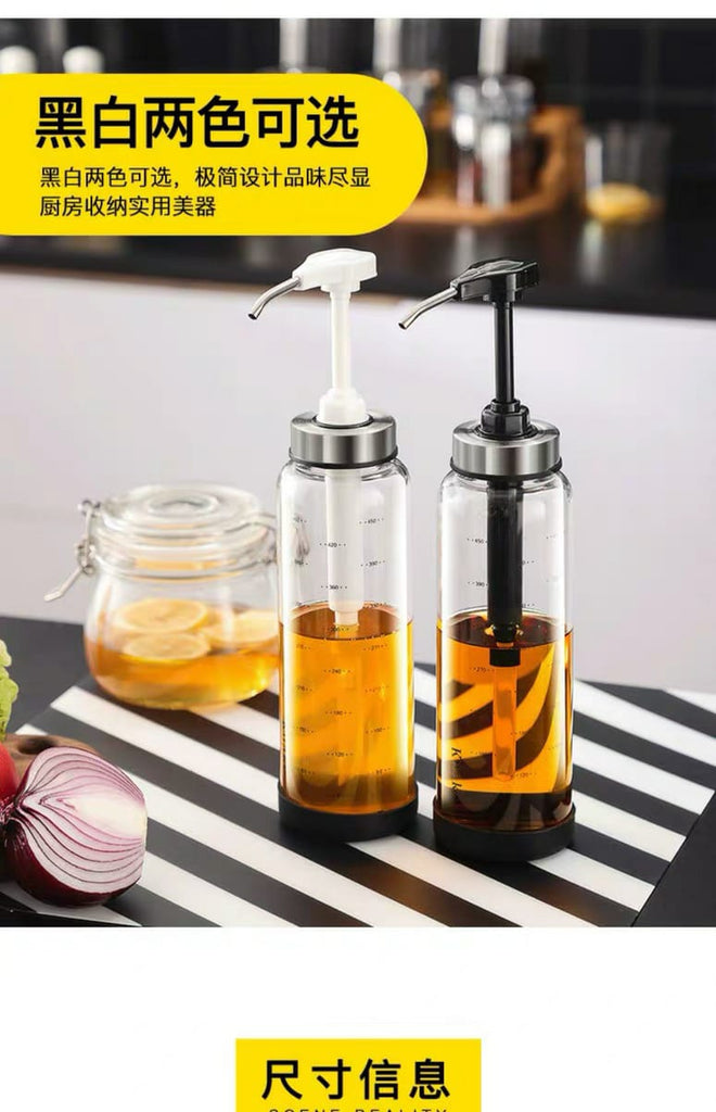 Glassed Honey Dispenser