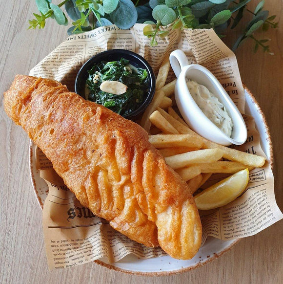 Archipelago Beer Battered Fish & Chips