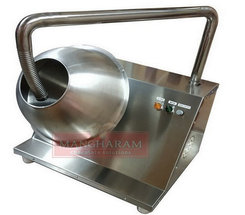 mangharam chocolate solutions chocoman spin panning machine
