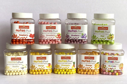 Nutos Pearls Cake Toppings 10 fruity flavours