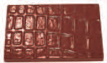 Chocolate Mould RA14529 - Mangharam Chocolate Solutions