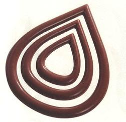 Mangharam Garnish Mould MA 20-D023 - Mangharam Chocolate Solutions