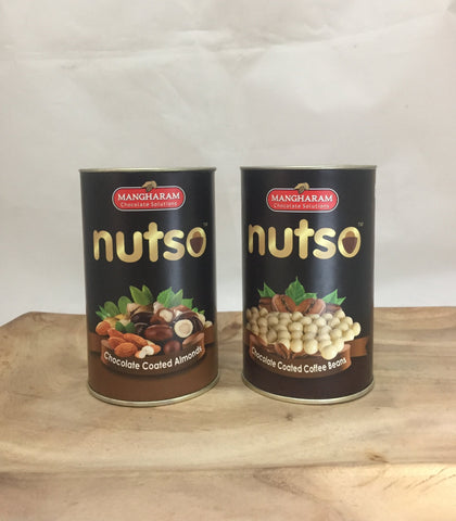 NUTSO - Chocolate Coated Goodies Set of 2 - Mangharam Chocolate Solutions