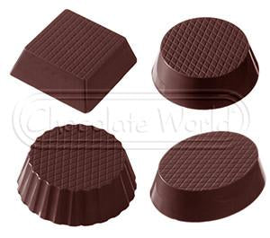 Chocolate Mould RM2112 - Mangharam Chocolate Solutions