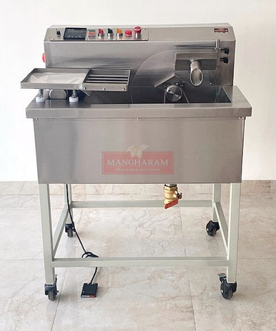 ChocoMan 30 Chocolate Melting,Tempering & Moulding Machine - Mangharam Chocolate Solutions