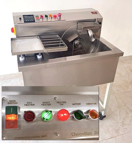 ChocoMan 30 Deluxe Chocolate Machine with new features