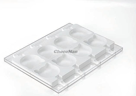 Ice-Cream Cat Mould ICE08 - Mangharam Chocolate Solutions