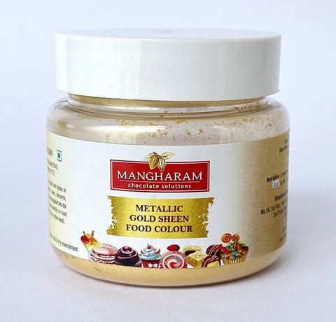 Mangharam Metallic GOLD SHEEN Colour  - 10 gms