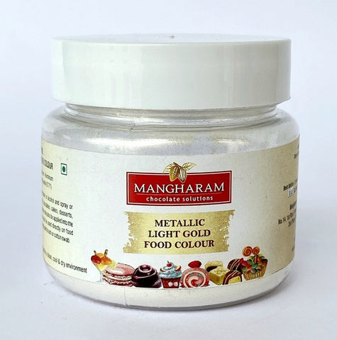 Mangharam Metallic LIGHT GOLD Colour  - 10 gms