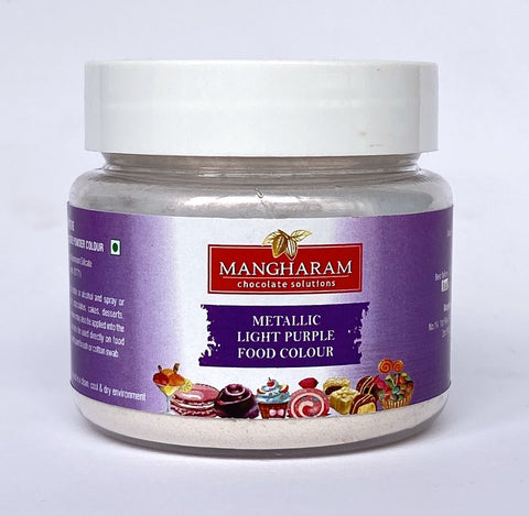 Mangharam Metallic LIGHT PURPLE Chocolate Colour 10 gms