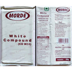 Morde White Choco Compound 500g Slab (CO M21) - Mangharam Chocolate Solutions