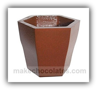 Polycarbonate Chocolate Dessert Cup Mould CC14536 from Mangharam - Mangharam Chocolate Solutions