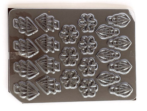Mangharam Chocolate Garnish Mould RP 018
