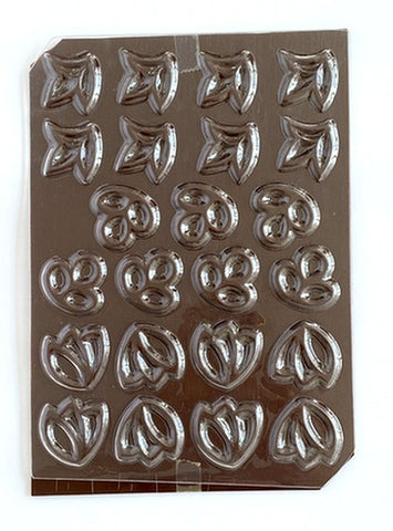 Mangharam Chocolate Garnish Mould RP 026