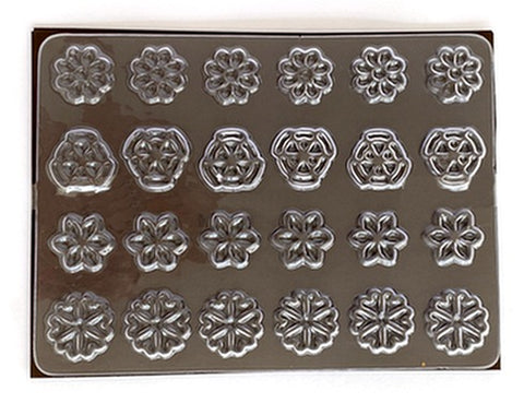 Mangharam Chocolate Garnish Mould RP 099