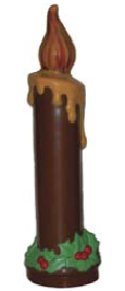 Mangharam Christmas Candle Chocolate Mould H441027X - Mangharam Chocolate Solutions