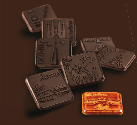 Chocolate Mould MA6006 - Mangharam Chocolate Solutions
